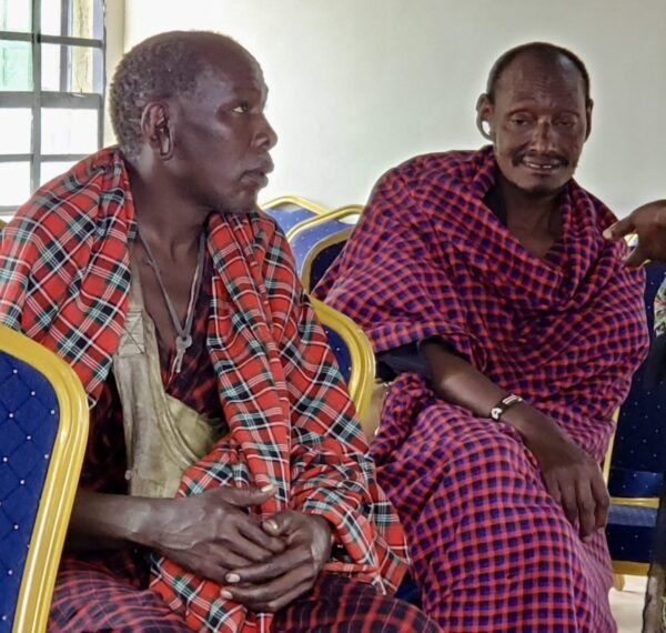 Massai Tribe Visitors